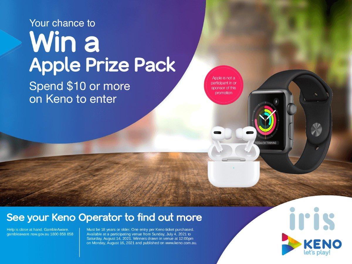 Apple prize pack